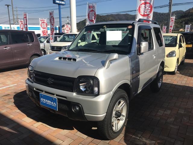 スズキ XC 軽自動車 4WD シルバー AT 保証付 AC