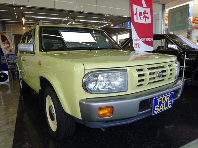 日産 ラシーン タイプII 4WD ワンオーナー