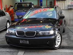 BMW325i ハイラインパッケージ後期1オーナー黒本革禁煙HID