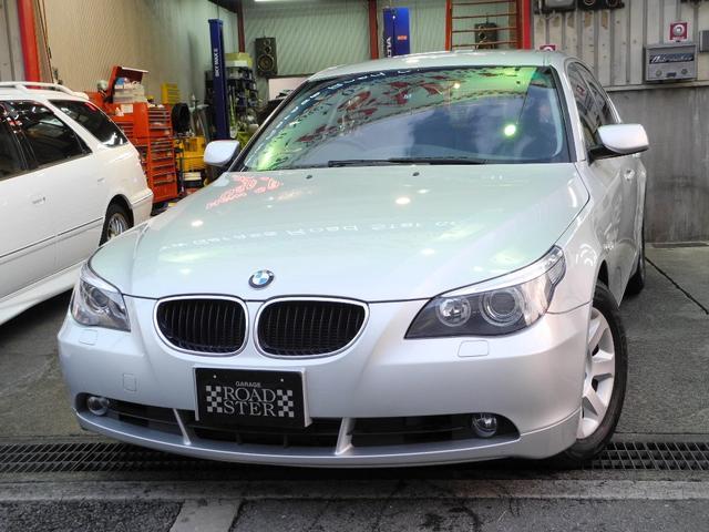 BMW 525iハイラインパッケージ屋内保管黒本革マルチHID禁煙
