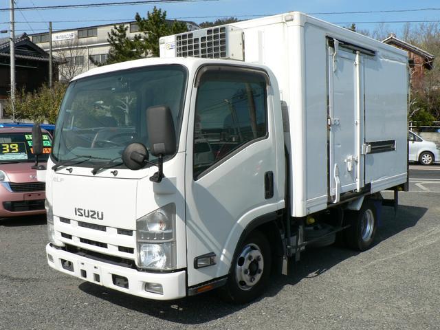 いすゞ 冷蔵冷凍車 5MT -5℃設定 バックモニター 荷箱左スライドドア リアシャッタードア