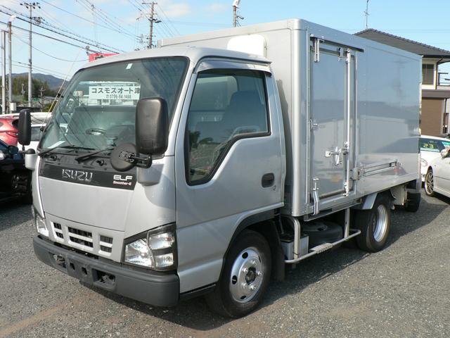 いすゞ エルフトラック 冷蔵冷凍車 -30℃設定 バックモニター 荷箱左スライドドア スムーサーE 5速