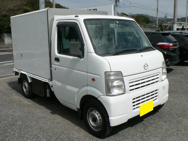 マツダ スクラムトラック 低温冷蔵冷凍車 -20℃設定 オートマ 荷箱左サイドドア付