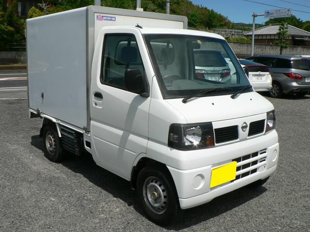 日産 冷蔵冷凍車 -5℃設定 荷箱左スライドドア 登録遅れ車