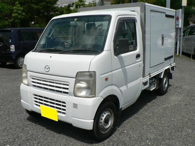 マツダ スクラムトラック 冷蔵冷凍車 -5℃設定・荷箱左スライドドア