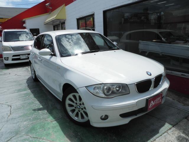 BMW 1シリーズ 116i 社外HDDナビ HIDヘッド レ−...