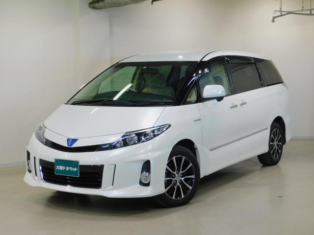 トヨタ アエラス ETC・バックモニター・HDDナビ・スマートキー付