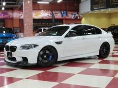 BMWM5 20アルミ サンルーフ アクラポビッチ KW車高調可