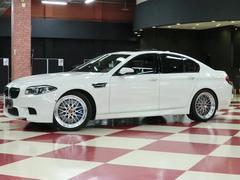 BMWM5 サンルーフ BBS20インチアルミ インテリセーフ