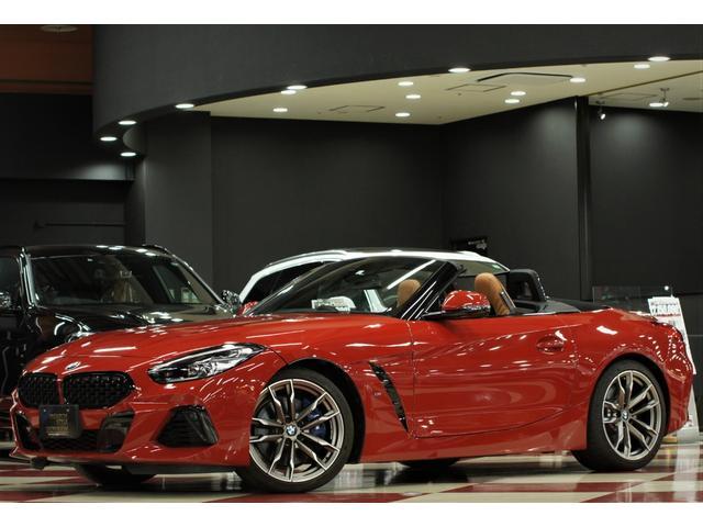 BMW Z4 M40i サンフランシスコレッド/ハイグロスシャドーラインプラス/ヴァーネスカレザーコニャック/シートヒーター/ステアリングヒーター/ハーマンサラウンド/アクティブクルーズ/ドライビングアシスト