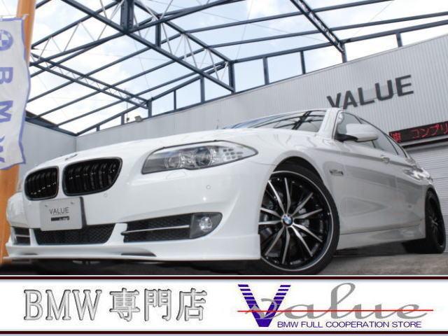 BMW 523iターボハイラインコンプリート黒革新品20inアルミ