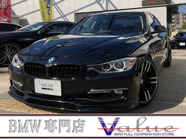 BMW 328iラグジュアリー ハイパワー328i サンルーフ 革 TV 新品19アルミエアロ禁煙車