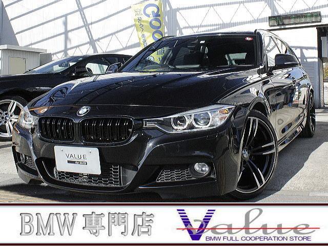 BMW 3シリーズ 320iツーリング Mスポーツ ディーラー4年分記録簿付 インテリセーフ クルコン パドルシフト 新品19アルミ