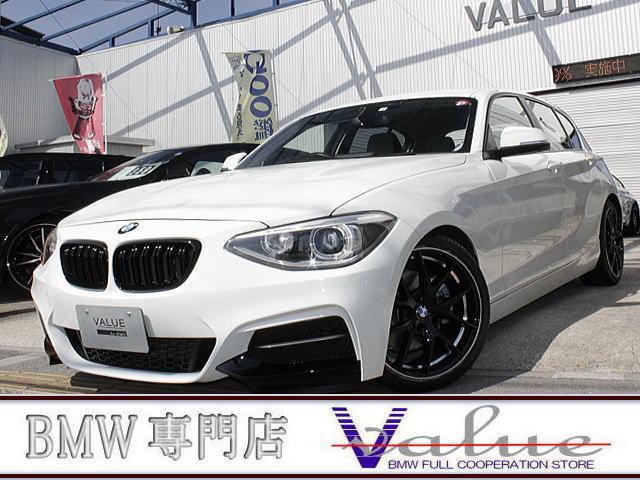 BMW 1シリーズ 116i ナビ ハーフレザー 新品M2フェイスエアロ 新品18アルミ 禁煙車