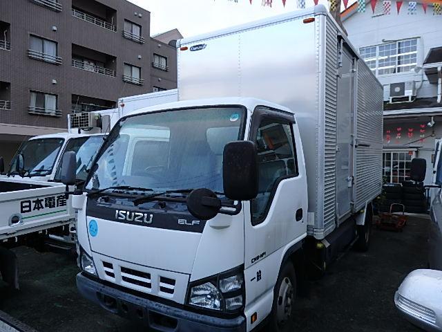 いすゞ エルフトラック ロング 3.0tドライバン (なし)