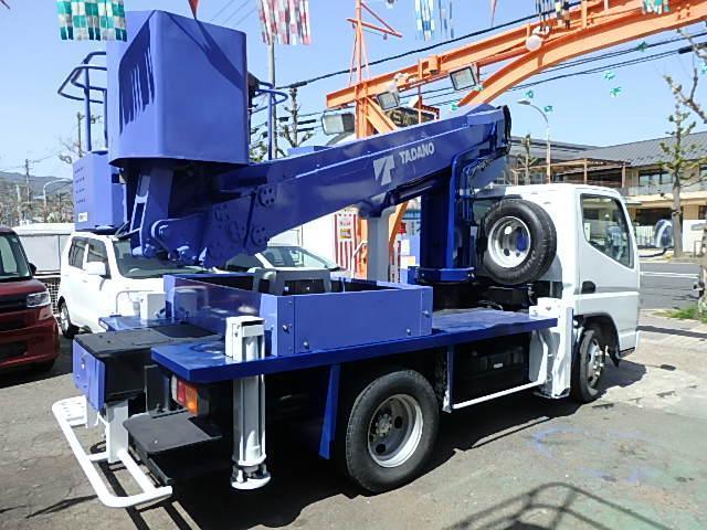 三菱ふそう  高所作業車12m タダノAT121