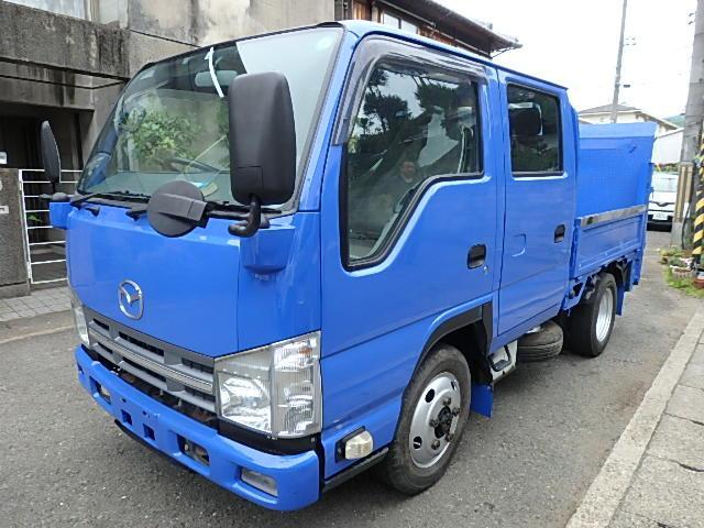 マツダ タイタントラック  4WD ダブルキャブ パワーゲート 最大積載量1850kg