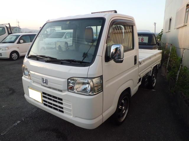 ホンダ アクティトラック SDXナビTVドラレコ5速MTLEDライトETCライトバー