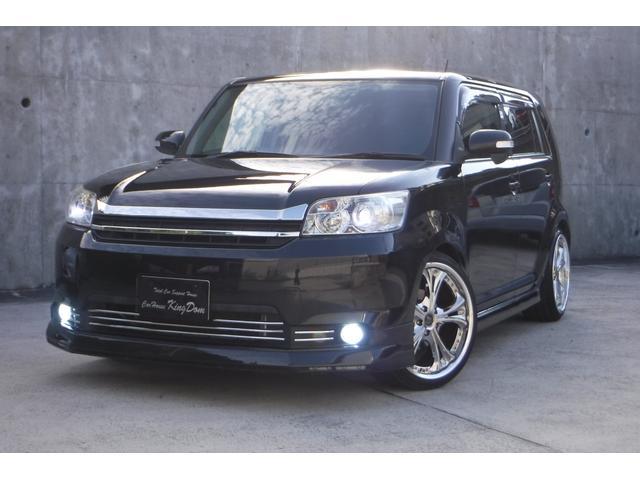 トヨタ 1.8Sオンビーltdエアロ黒革HDDナビ社外19AW車高調