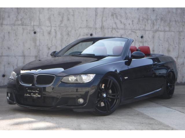 BMW 3シリーズ 335iカブリオレ 車高調 19インチホイール SuperSprint4本出しマフラー 赤革シート パドルシフト シートヒーター 電動シート ETC