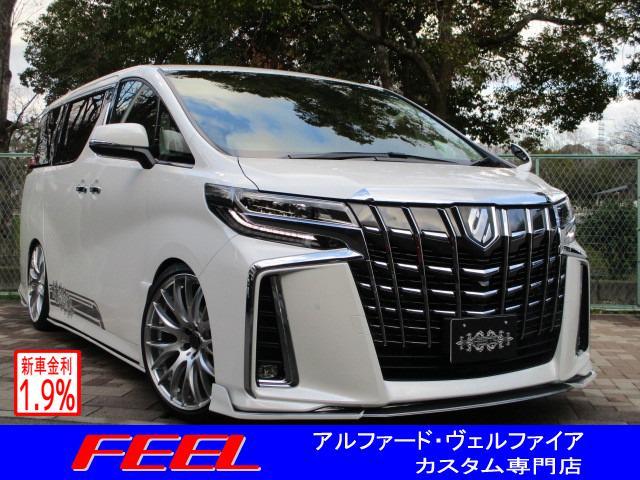 トヨタ 2.5S C 新作Heartsエアロ 車高調 21inアルミ