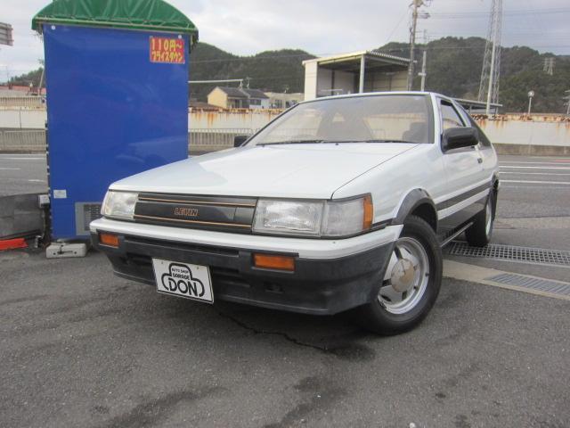 トヨタ GT-APEX 3ドア ワンオーナー 前期ノーマル パワステ