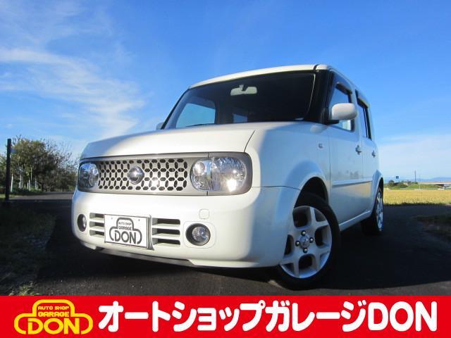 日産 14S FOUR 4WD タイミングチェーン DVDナビ スマートキー HIDヘッドライト