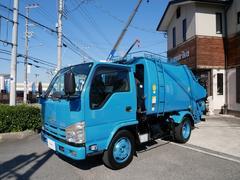 エルフトラックプレス式パッカー車 4.3立米 積載3150kg ターボ