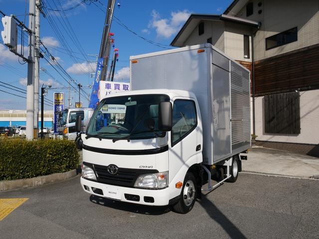 トヨタ 2t アルミバン 6速AT 5トン未満免許対応