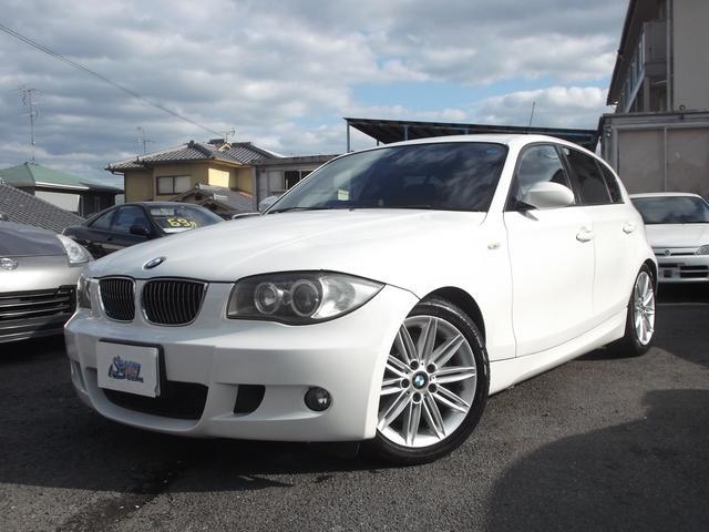 BMW 130i Mスポーツ 黒革シート サンルーフ 車検03年8月