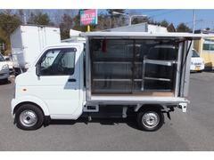 キャリイトラック移動販売車 冷蔵冷凍付2方開 DENSO製