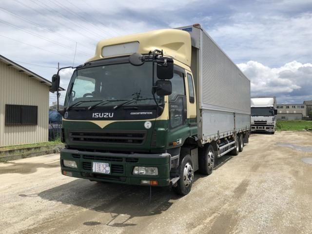 いすゞ ギガ  低床アルミウイング 積載13.9t 7MT