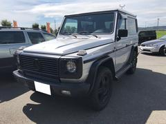 M・ベンツG320 4WD サンルーフ 革シート AW18 カセット