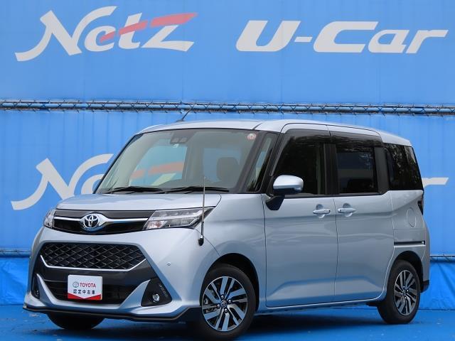 トヨタ タンク カスタムG ワンオーナー車 安全装備搭載 SDナビ