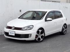 VW ゴルフGTI 買取車 18AW 社外ナビTV Bカメラ 1オーナー