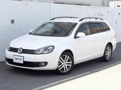 VW ゴルフヴァリアントTSI コンフォートライン社外ナビ地デジTV BカメラHID