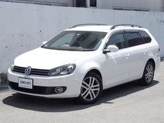 VW ゴルフヴァリアントTSI コンフォートライン社外ナビ地デジTV ETC HID