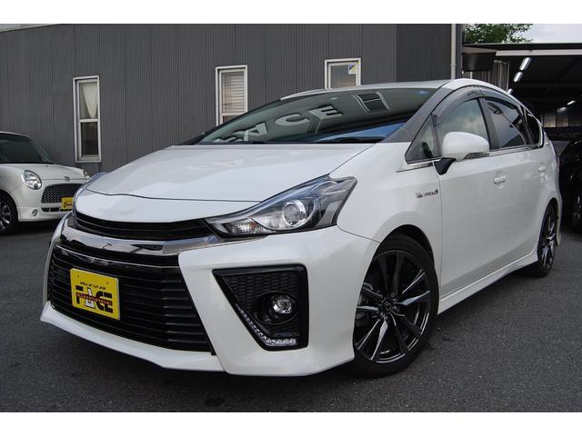 トヨタ Sツーリングセレクション・G's 純正SDナビ・地デジTV