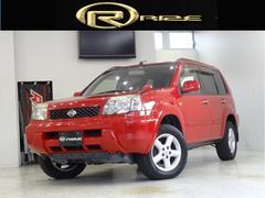 エクストレイルX4WD カプロンシート DVDナビ ETC キーレス