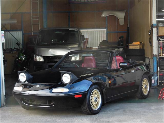 ユーノス S LTD BBS14W 限定車 赤内装 ローダウン