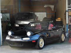 ユーノスロードスターS LTD BBS14W 限定車 赤内装 ローダウン