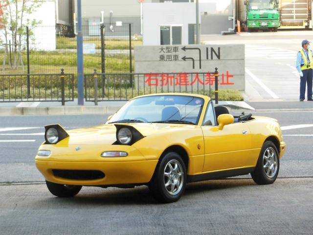 ユーノス ユーノスロードスター JリミテッドII ガラス幌 koni車高調 リアスポイラー ETC
