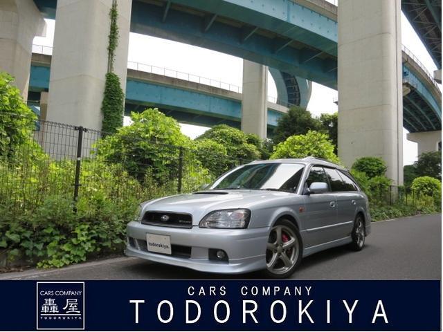スバル GT-B E-tuneII ユーザー買取車 CD/MDステレオ