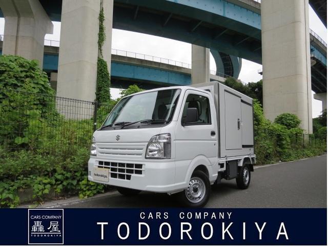 スズキ キャリイトラック  660冷凍車1WAY助手席側ドア