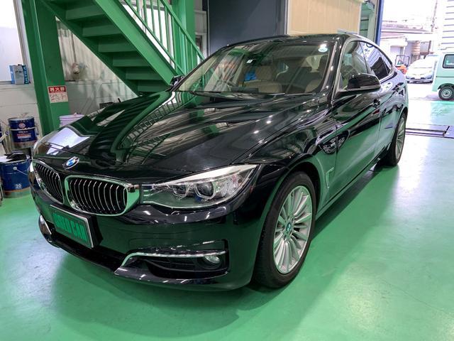 BMW 320iグランツーリスモ ラグジュアリー レザーシート