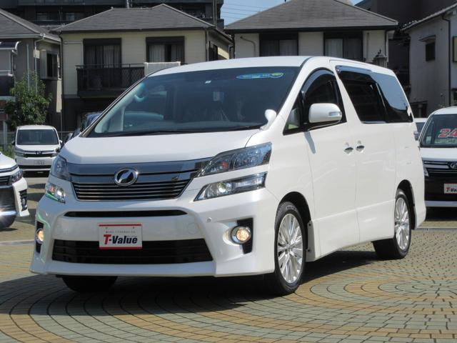 トヨタ 2.4Z Gエディション SDナビ・後席モニター
