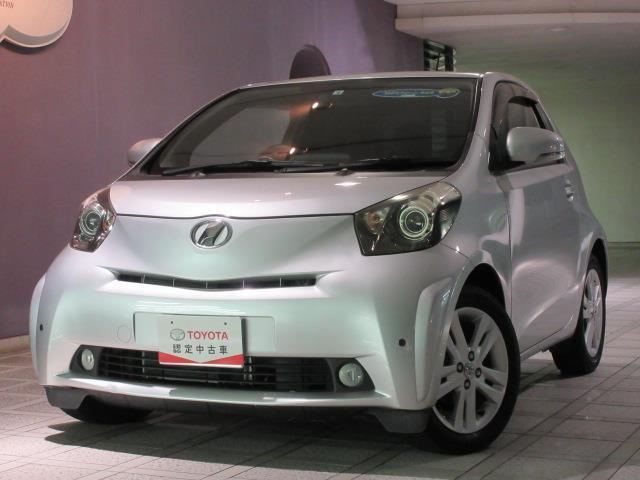 トヨタ iQ 130G レザーパッケージ トヨタ認定中古車 HIDヘッドランプ ワンオーナー スマートキー