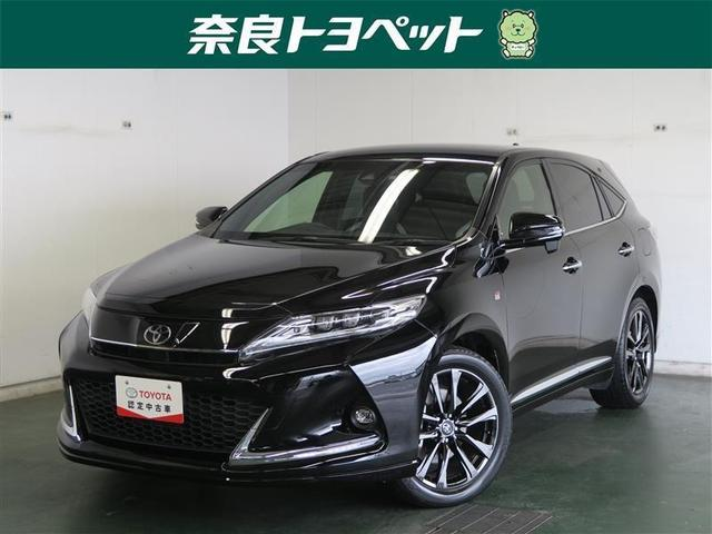 トヨタ ハリアー GRスポーツ バックモニター 純正アルミ メモリーナビ