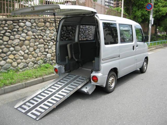 三菱 ハイルーフ 車いす スローパー 4WD