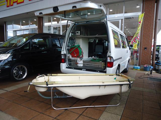 マツダ DX ハイルーフ 入浴車 平野車体オリジナルカー